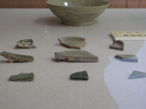 離宮院発掘調査 出土土器