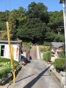 棒原神社へ