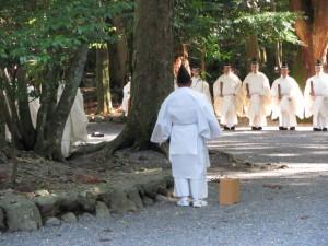 新嘗祭(内宮)大御饌の儀