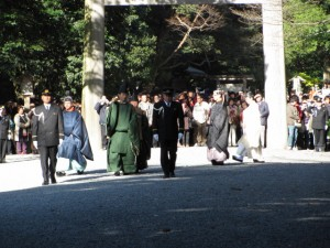 新嘗祭(内宮)奉幣の儀