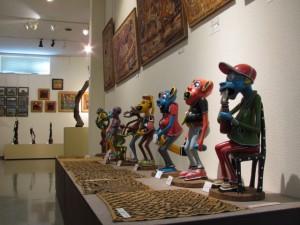 マコンデ美術館 2F展示室