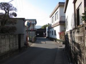 黒瀬町交差点から加努弥神社へ