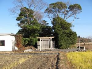 加努弥神社へ