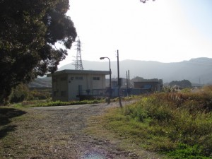 蟹田排水機場