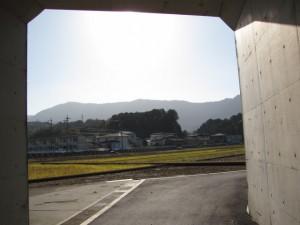伊勢二見鳥羽ラインのトンネル