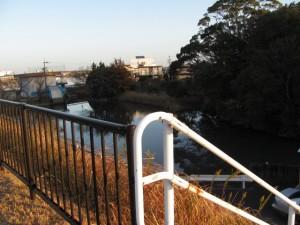 国道23号線の階段(浜郷神社近く)