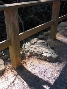 寝地蔵石(外宮)
