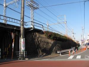 八間道路と近鉄