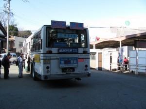 二見めぐりのための臨時バス