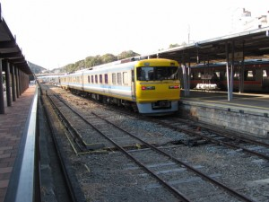 キヤ95形・キサヤ94形(鳥羽駅)
