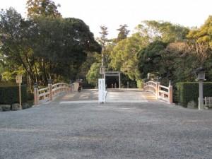 外宮 表参道 火除橋