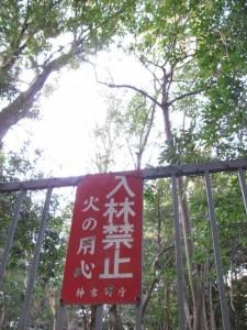 上御井神社遥拝