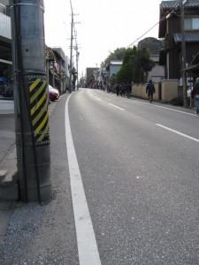 間の山(古市街道)