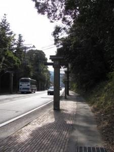 浦田交差点から宇治橋へ
