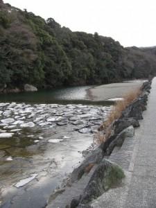 烏帽子岩(五十鈴川)