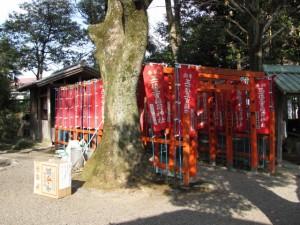 正一位三吉稲荷神社(世木神社)