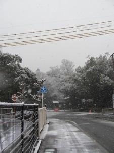 雪景色の外宮