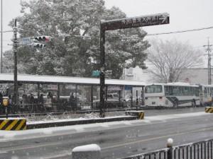 外宮前のバス停