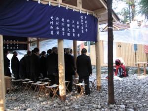 御頭神事-祭典(高向大社)