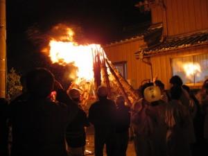 御頭神事-打祭り(高向大社)