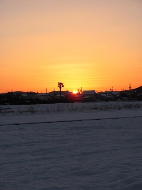 2011年、二度目の積雪(自宅付近)