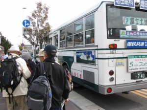 松阪駅北口 臨時バス乗り場