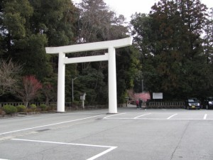 瀧原宮の参道