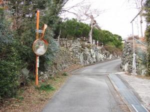 瀧原宮から三瀬坂峠登り口へ