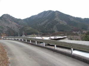 三瀬川登り口へ