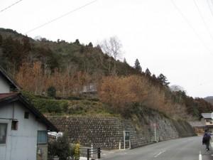 三瀬川登り口から多岐原神社へ