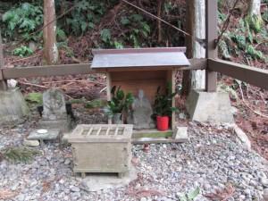 祠(船木神社からさらに上)