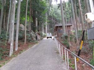 船木神社を後に