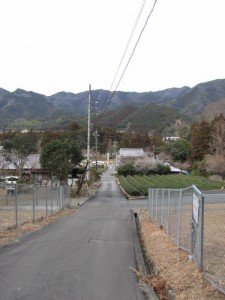 船木神社から熊野古道へ