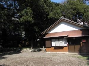 社務所(箕曲中松原神社)