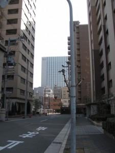 玉造稲荷神社→国道308号線の途中