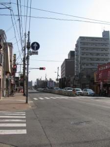 地下鉄 新深江駅付近