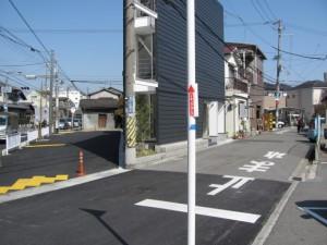 菱江交差点付近