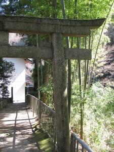 鳥居の先には成願寺