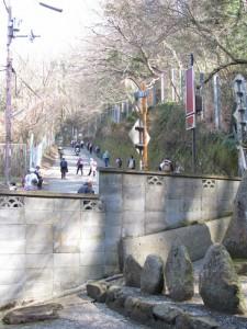 額田橋付近