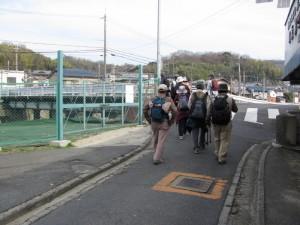 小瀬町西交差点から南生駒駅へ