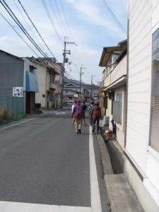 小瀬橋から南生駒駅へ