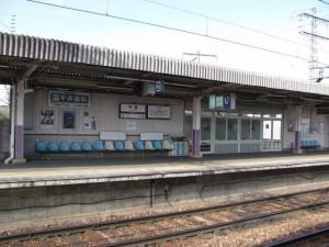 近鉄 橿原線 平端駅にて