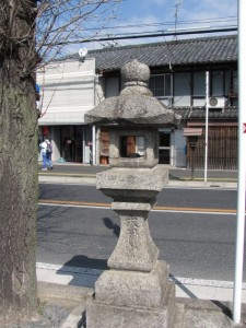 常夜燈(丹波市町交差点付近)