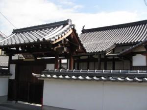 久保院(天理本通商店街から市座神社へ)