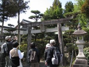 八坂権現(市座神社から大和神社へ)