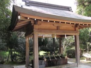 手水舎(大和神社)