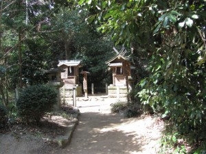 厳島神社と事代主神社