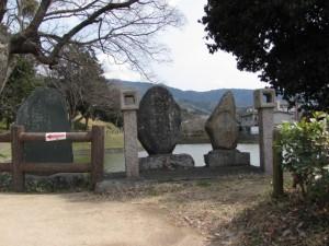 内堀を望む(黒塚古墳)