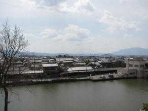 黒塚古墳からの眺望