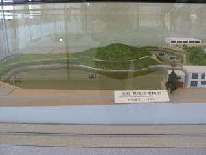 黒塚古墳の模型